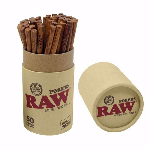 RAW WOOD POKERS SMALL