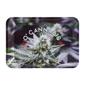 RAW O'CANNABIS ROLLING TRAY - MINI